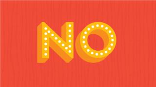 """5 razones positivas para decir """"no"""""""