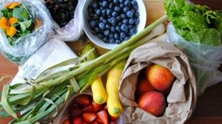 Hermosas frutas y verduras