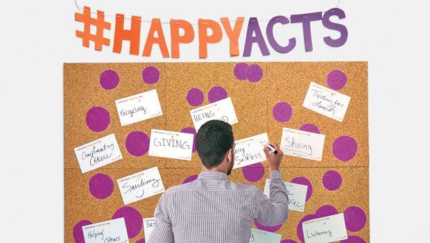 Cómo construir un Mural de la Felicidad